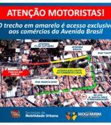Atenção, motoristas! Nova interdição na Avenida Brasil para obras da Sesamm
