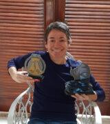 Mirlene Picin vence corridas de montanha e de rua