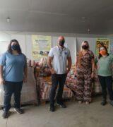 Distribuidora Milfarma doa 104 cestas básicas ao Banco de Alimentos de Mogi