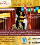 Oficina gratuita de teatro infantil tem inscrição aberta só até 5ª