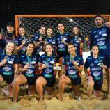 Recanto é vice da Copa do Brasil de Handebol de Areia Juvenil